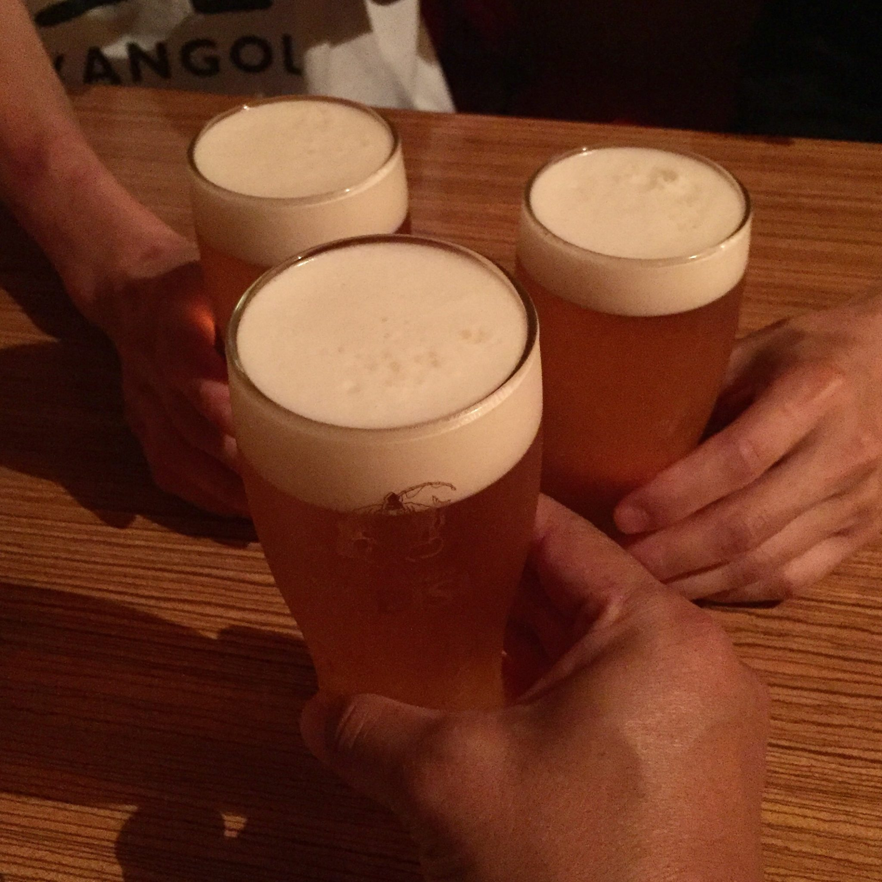 BAR JAH ジャー 秋田県秋田市大町 生ビール 乾杯