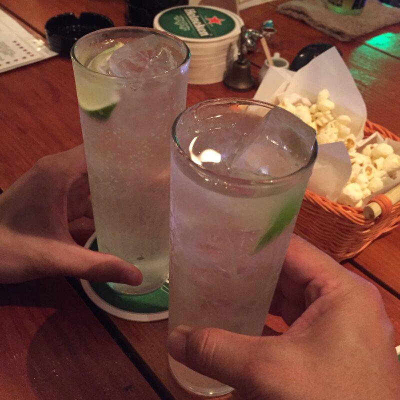 Mexican&Tequila SAN-TORU メキシカン&テキーラ サン・トール 秋田県秋田市南通 乾杯 テキーラトニック テコニック