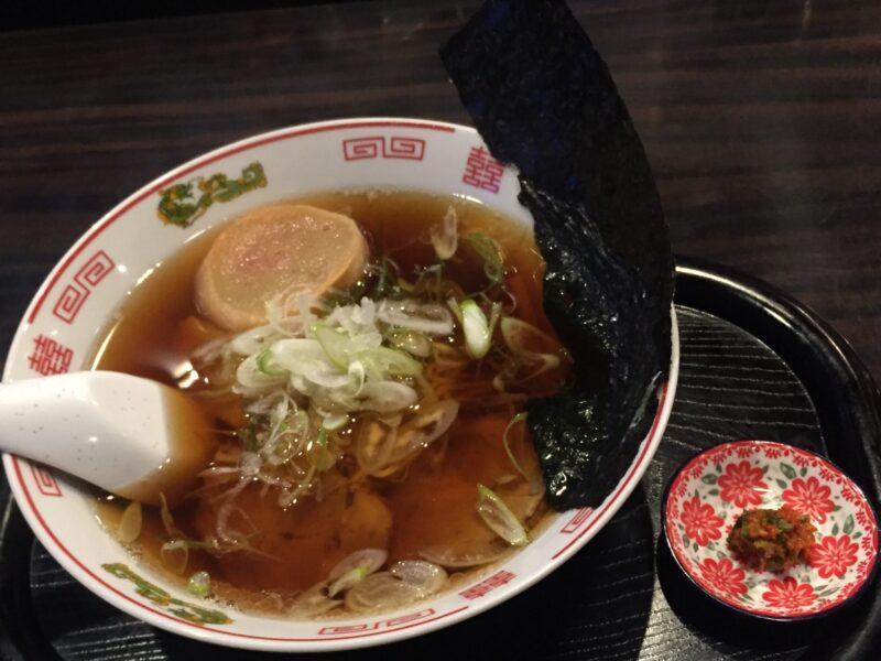 飲み処andキッチン ほのじぐみ 秋田市南通 ハマちゃんラーメン