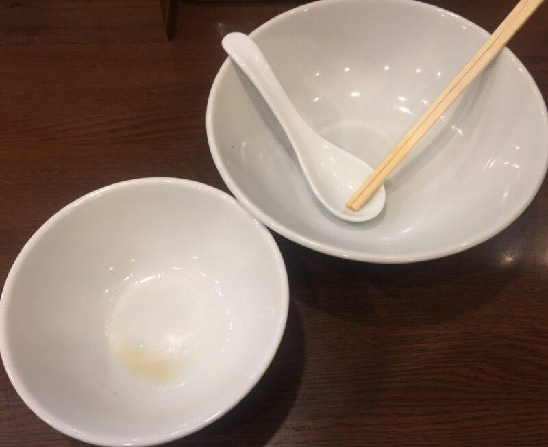 中華そばの店 多むら 秋田県秋田市広面 つけ麺 つけそば 完食