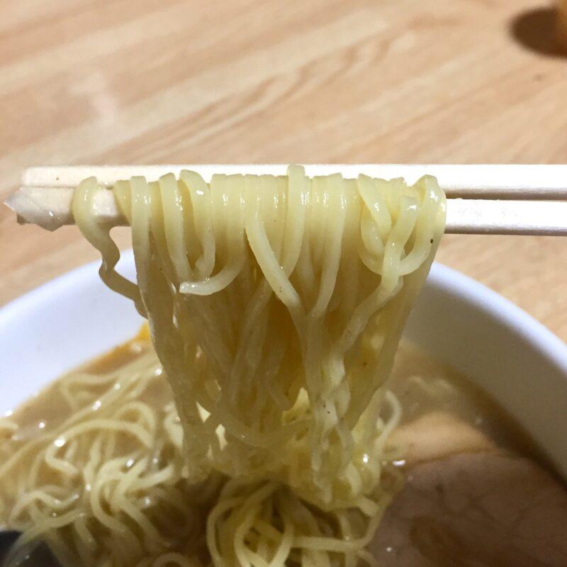 万松 秋田県潟上市飯田川下虻川 塩ラーメン 麺