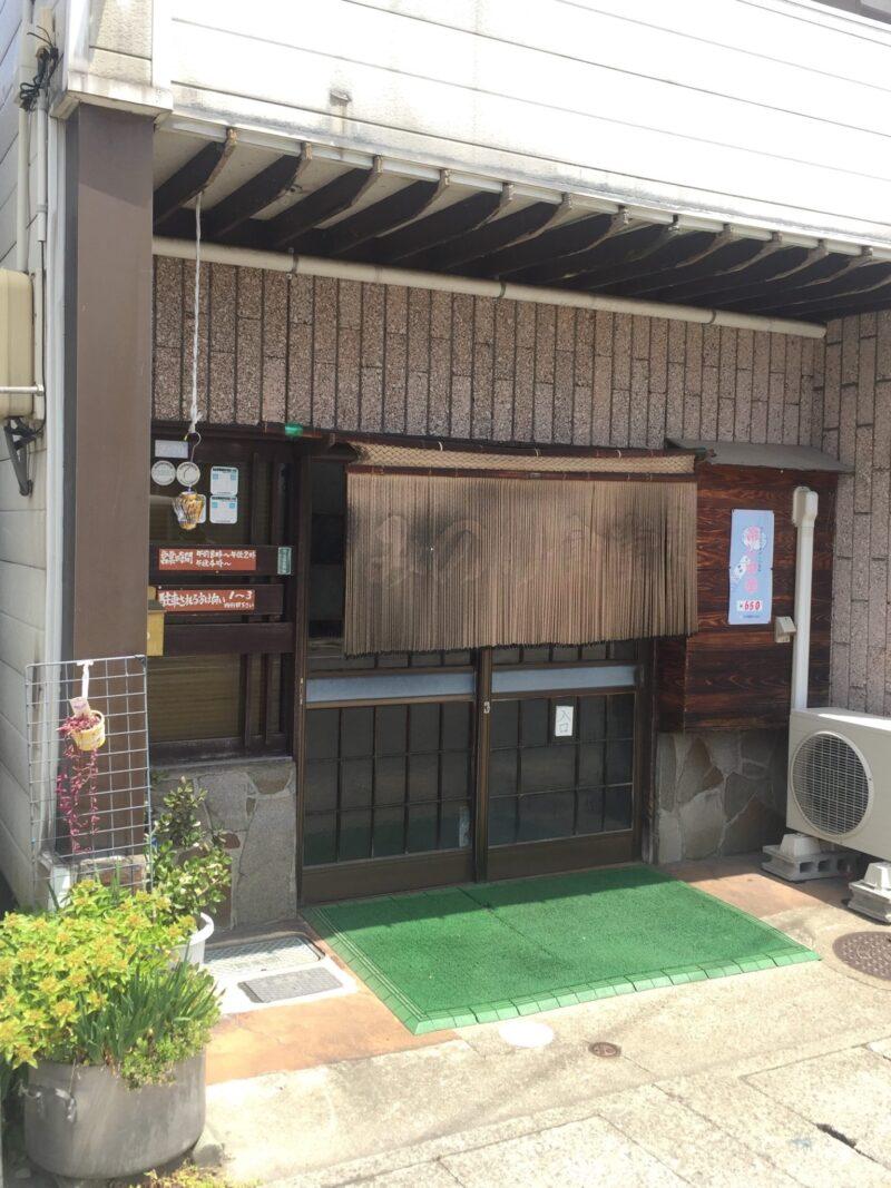 みのり食堂 秋田県横手市前郷 ご当地ラーメン 秋田ちゃんぽん 外観