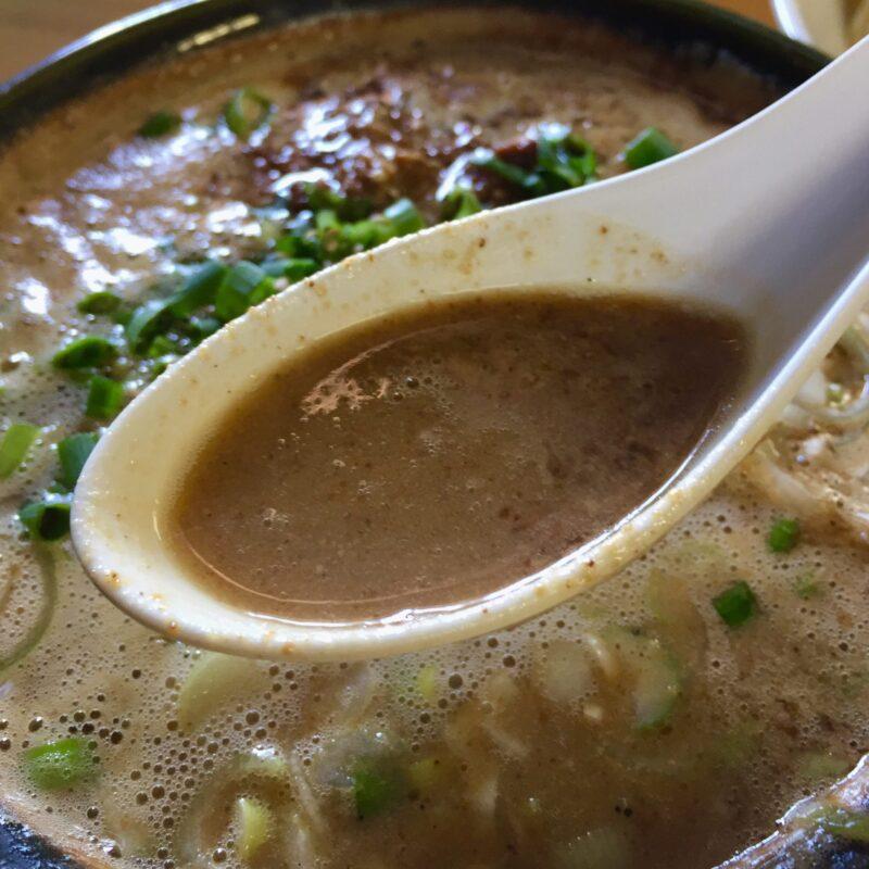 らーめん萬亀 ばんき 秋田県秋田市山王新町 坦々つけめん 濃厚塩 つけ汁 スープ
