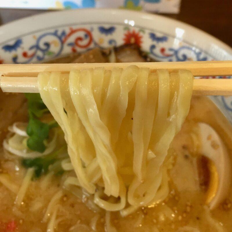麺屋 神楽 かぐら 秋田県仙北市角館町岩瀬町 濃厚塩ラーメン 麺