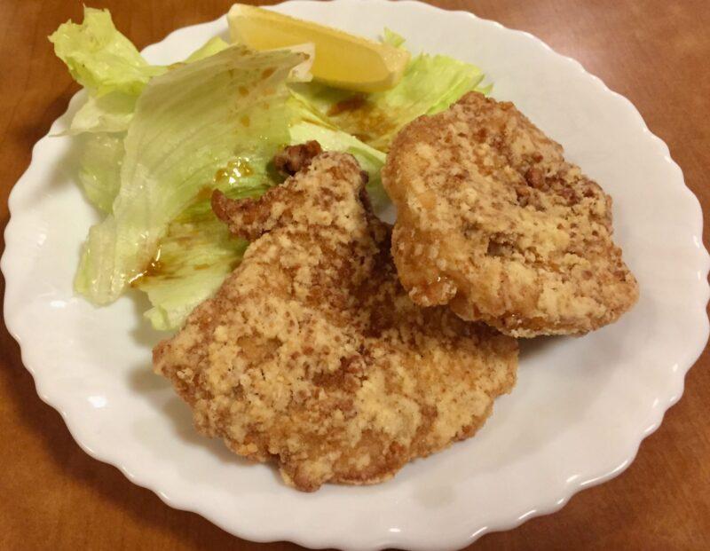 鶏料理 鳥安 とりやす 福島県福島市陣場町 竜田揚げ