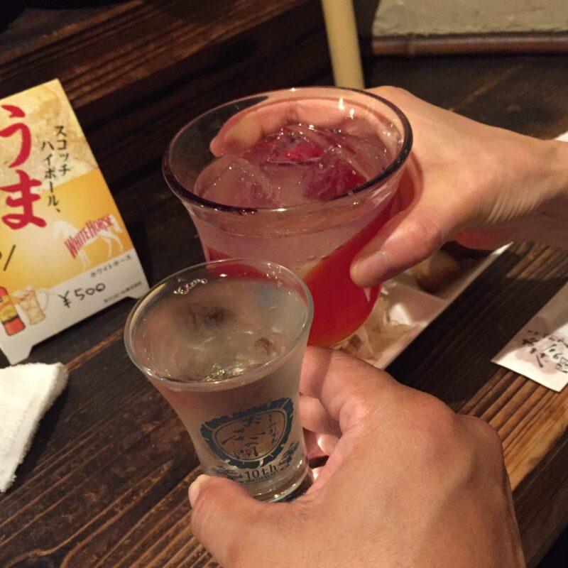 しぞーかおでん お茶の間 福島県福島市陣場町 静岡おでん 日本酒 乾杯