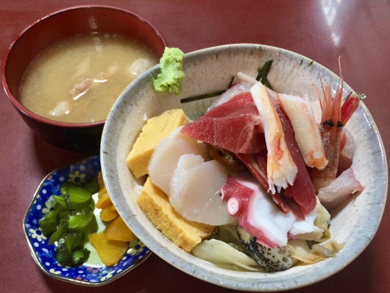 食事処 鈴女 魚料理 すずめ 千葉県銚子市中央町 海鮮丼