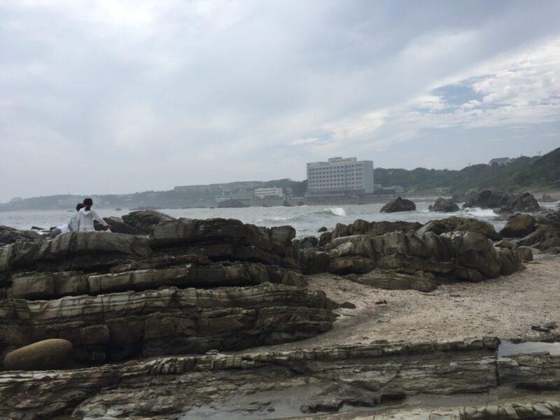 犬吠埼 君ヶ浜しおさい公園 千葉県銚子市君ヶ浜 地層 海岸線