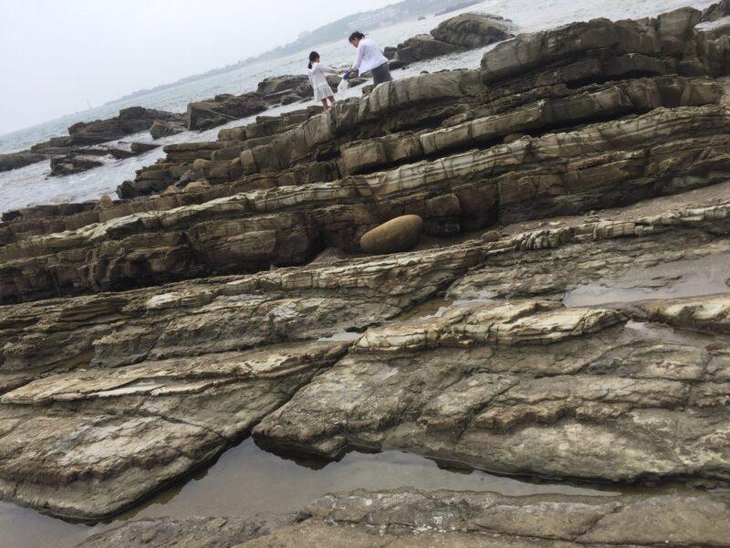 犬吠埼 君ヶ浜しおさい公園 千葉県銚子市君ヶ浜 地層