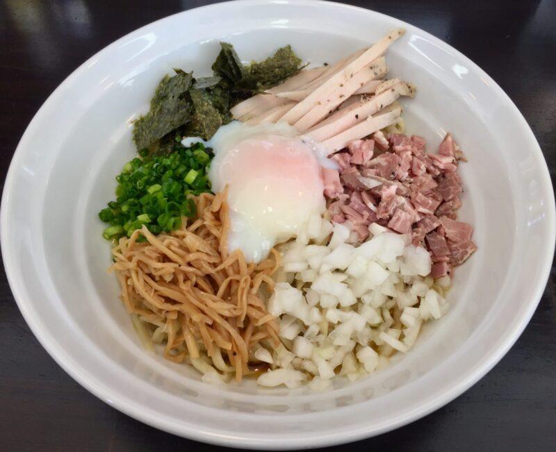 麺屋 満開 秋田県秋田市広面 鶏まぜそば