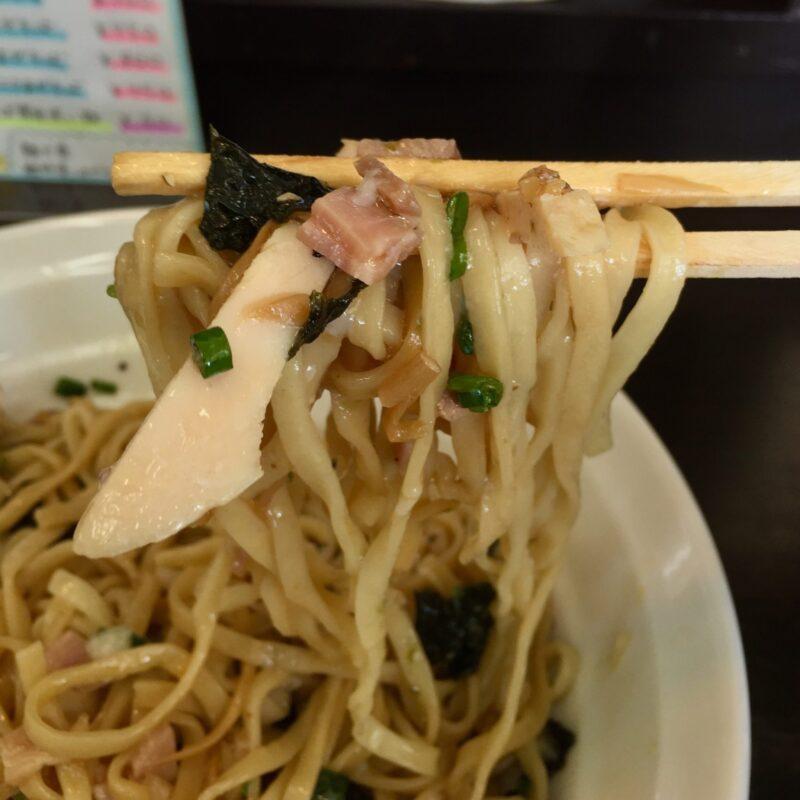 麺屋 満開 秋田県秋田市広面 鶏まぜそば 麺