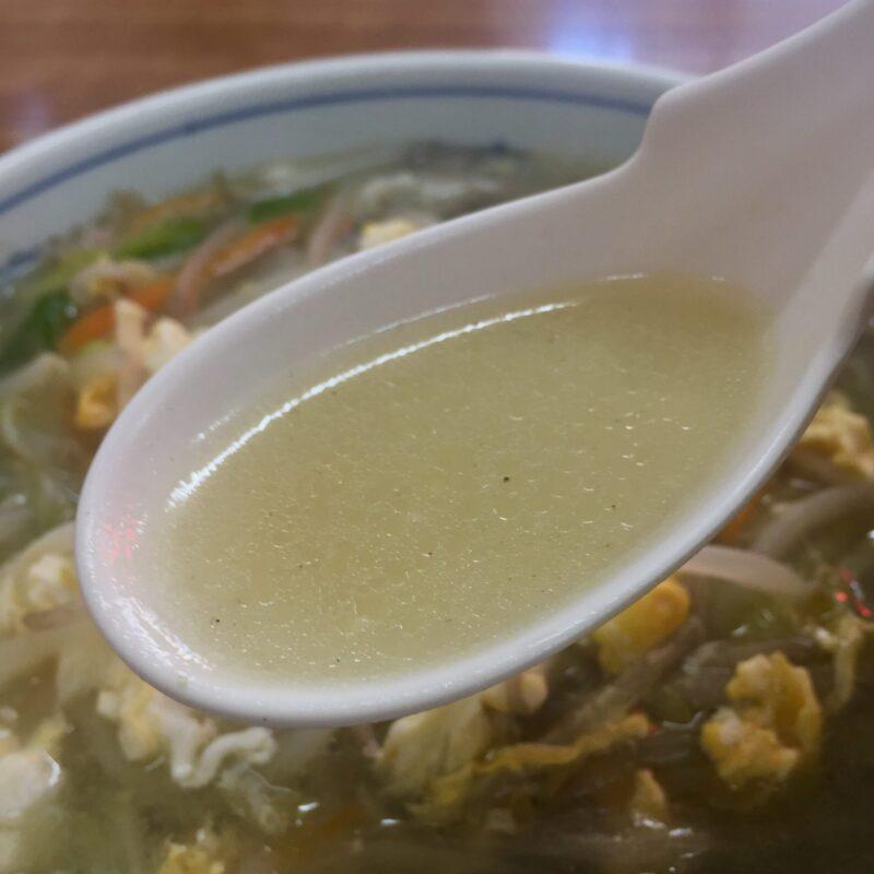 中華料理 金華園 秋田市中通 ご当地ラーメン 秋田ちゃんぽん チャンポン スープ