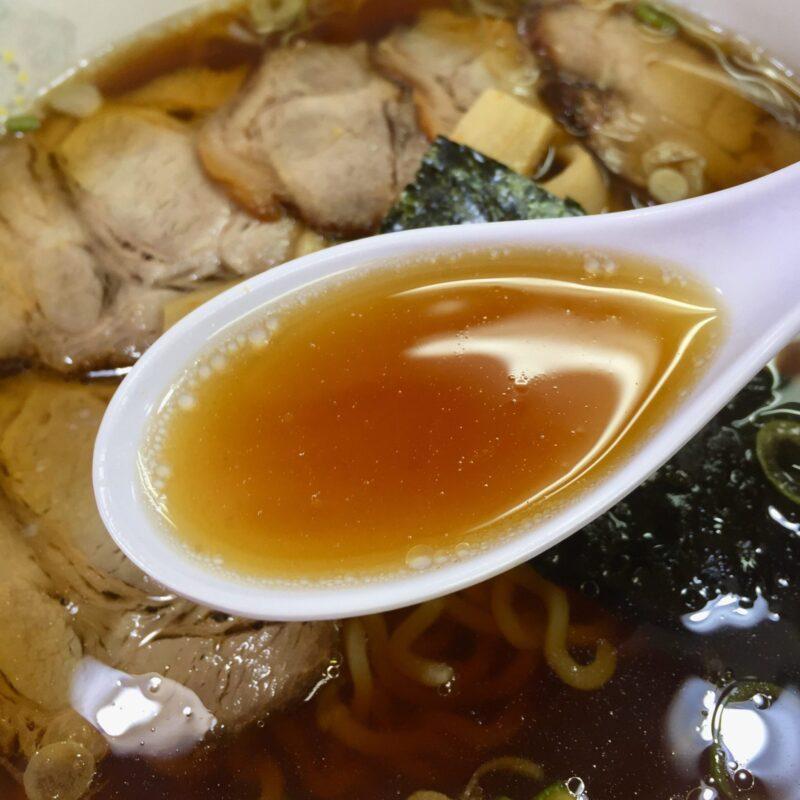 ら~めん海風 秋田県潟上市天王 出戸浜海水浴場 醤油らーめん しょうゆラーメン スープ