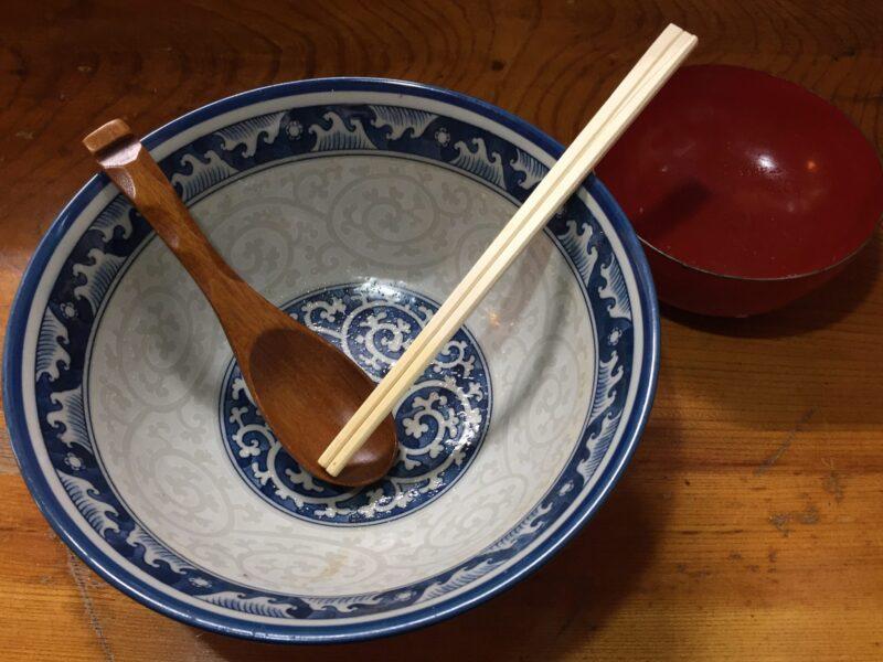 味匠 あずみ野 秋田県湯沢市川連町 ラーメン わんこ飯 完食