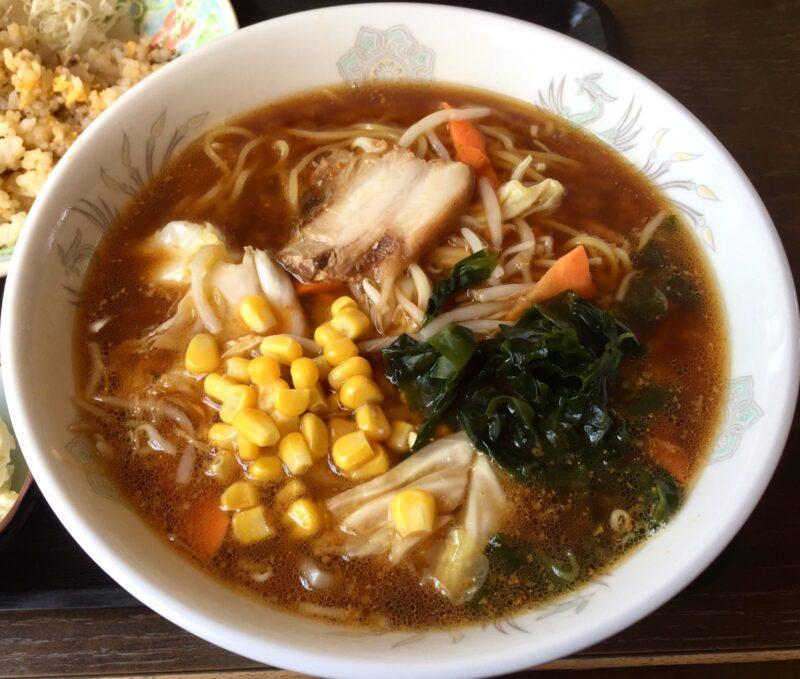 お食事処きらく きらく食堂 秋田県湯沢市川連町 味噌ラーメン