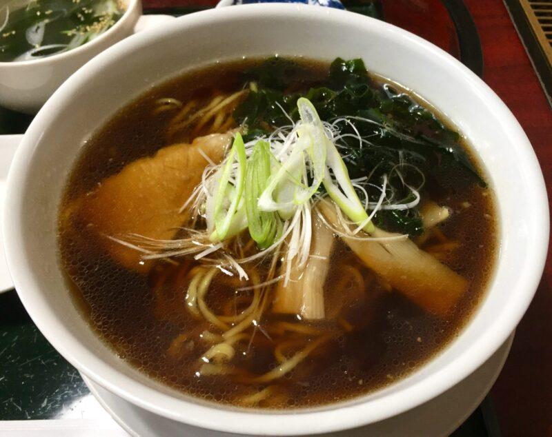 焼肉みつなし 秋田県湯沢市三梨町 醤油ラーメン