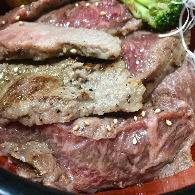 焼肉みつなし 秋田県湯沢市三梨町 特上ももステーキ丼ランチ