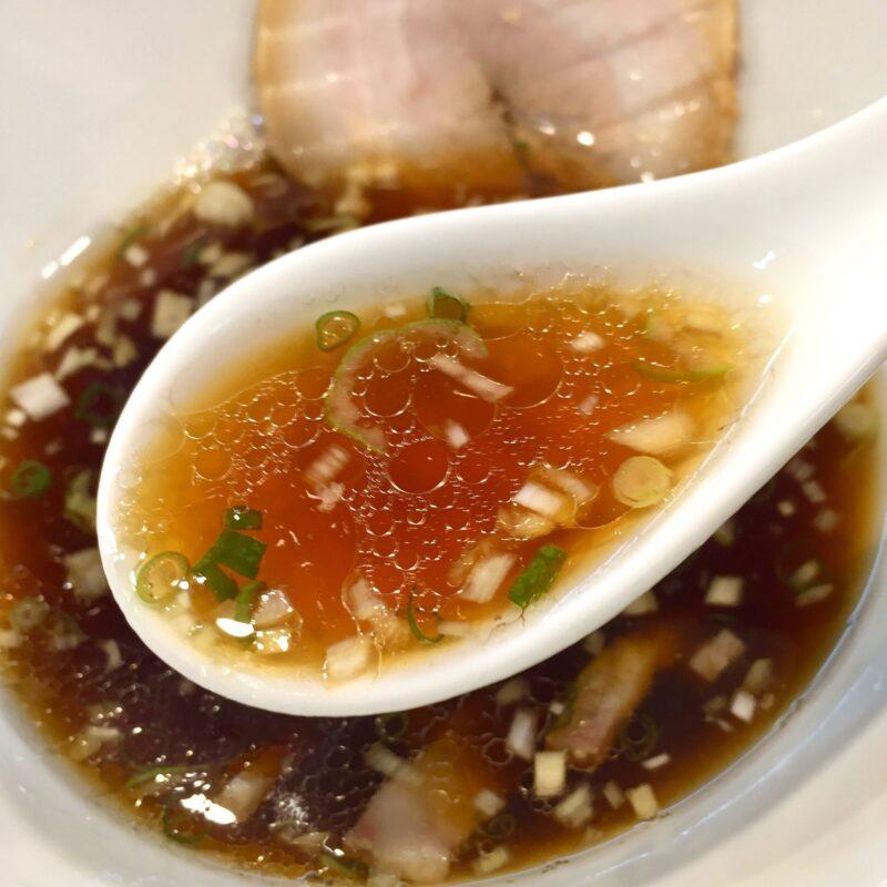 柳麺 多むら 外旭川店 秋田県秋田市外旭川 醤油つけ麺 つけ汁 スープ