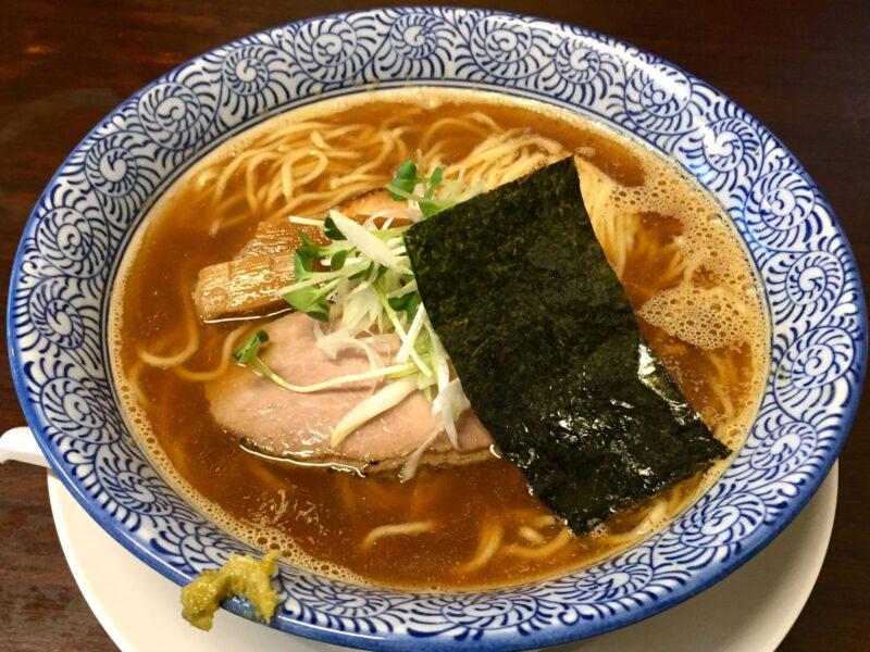 らぁ麺や 一晃亭 いっこうてい 新潟県長岡市大島 追い煮干し中華