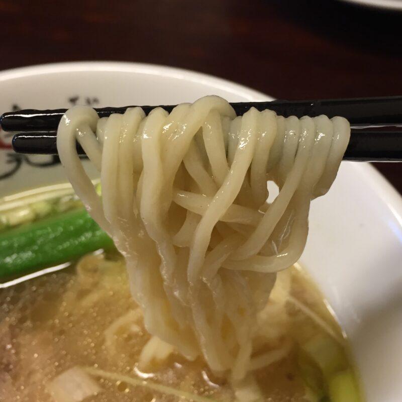 らぁ麺や 一晃亭 いっこうてい 新潟県長岡市大島 鶏と鯛の塩そば 自家製麺