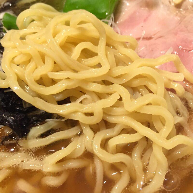 あおぎり AOGUIRI 新潟県長岡市東坂之上町 こがし醤油そば 麺
