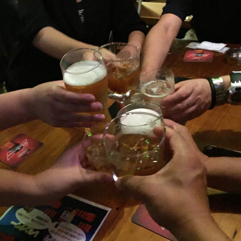 ザ・リフィー・タヴァーン The Liffey Tavern 長岡駅前店@新潟県長岡市東坂之上町 乾杯