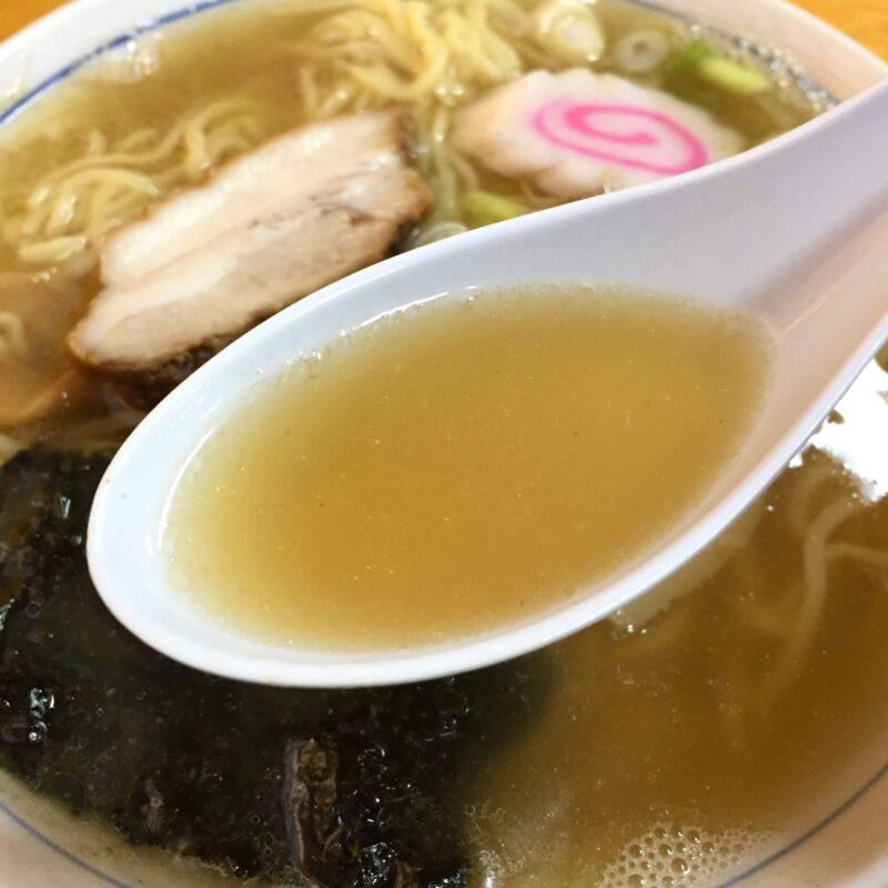 ちくに 新潟県村上市寺町 中華そば スープ