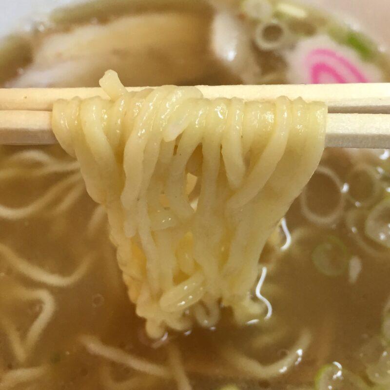 ちくに 新潟県村上市寺町 中華そば 麺