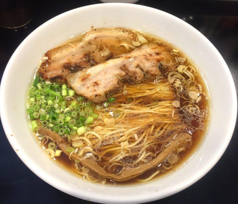 麺屋 熊胆 ゆうたん 宮城県仙台市青葉区小松島 醤油ラーメン