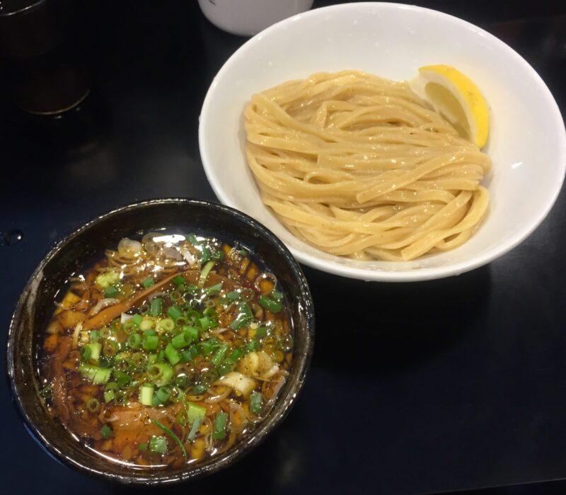 麺屋 熊胆 ゆうたん 宮城県仙台市青葉区小松島 つけ麺 レモン