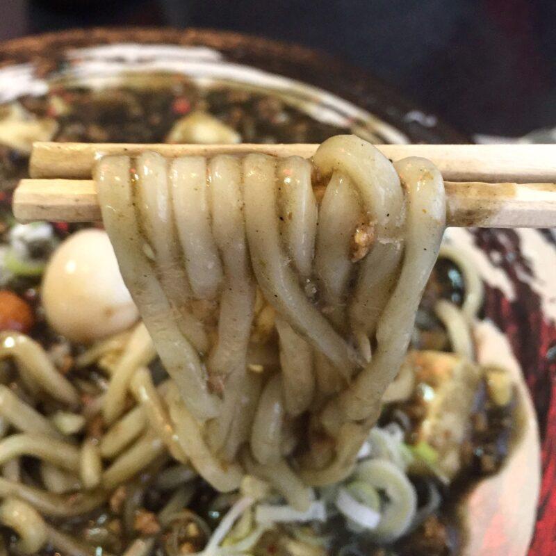 らー神 心温 ここあ 宮城県仙台市青葉区中山台 ブラックカレー麻婆 麺