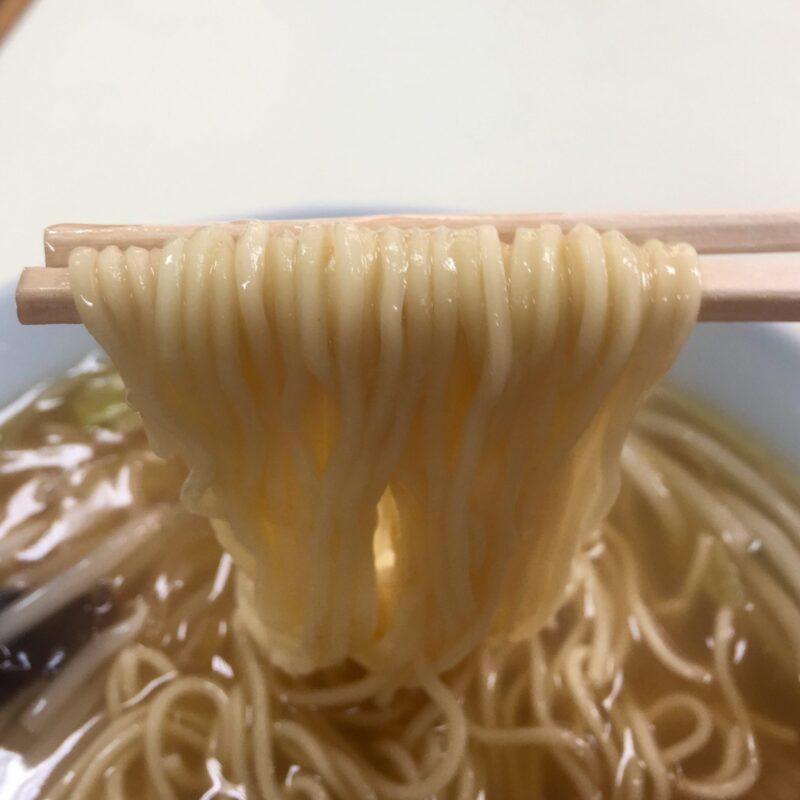 来々軒 宮城県塩竈市海岸通 餡掛けラーメン モヤシそば 麺