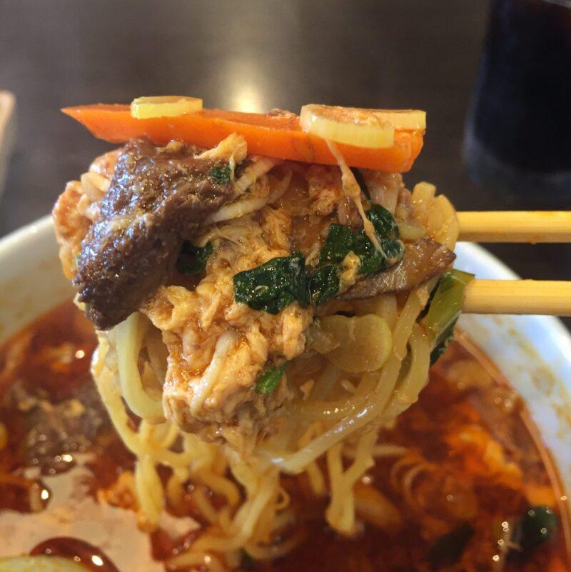 焼肉南大門 秋田店 秋田県秋田市寺内 カルビラーメン 麺