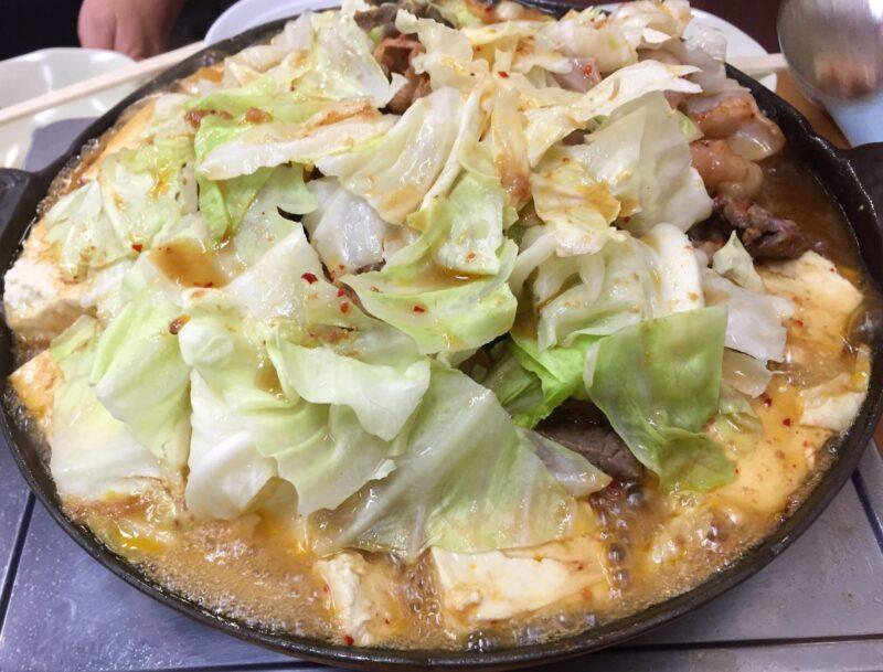 ホルモン幸楽 花輪本店 秋田県鹿角市花輪 ホルモン 焼肉 キャベツ 豆腐