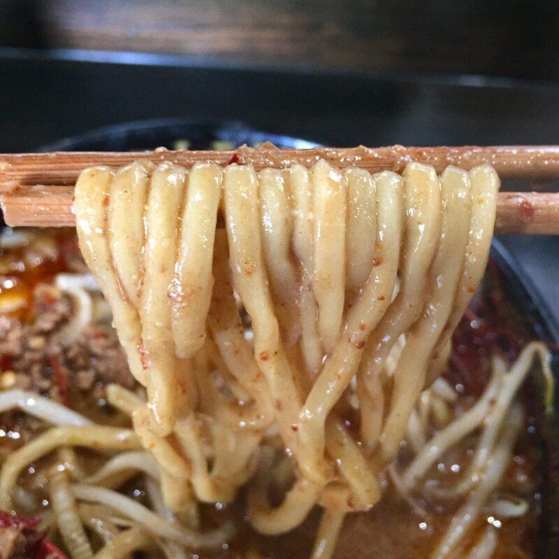 トラガス。 秋田県湯沢市西新町 四川風みそ坦々麺 自家製麺