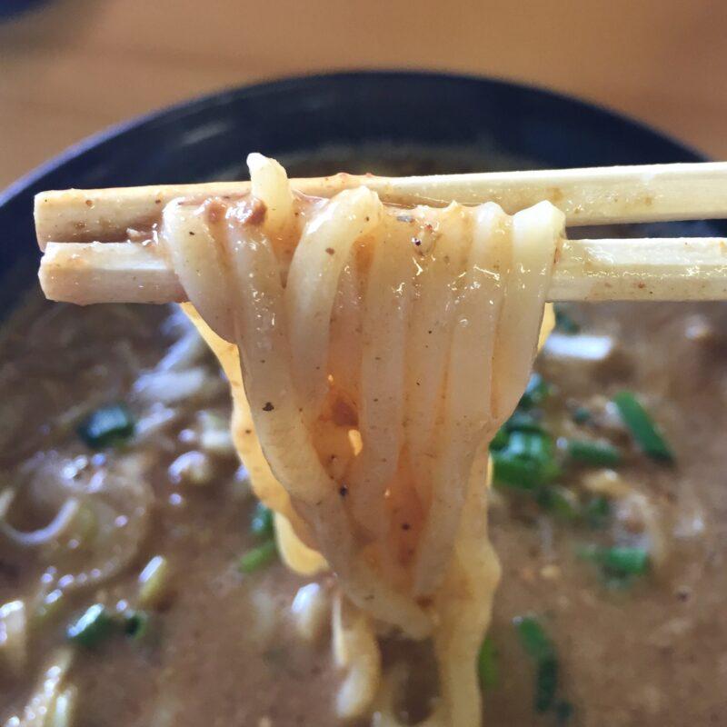 らーめん萬亀 ばんき 秋田県秋田市山王新町 坦々つけめん あっさり味噌 自家製麺