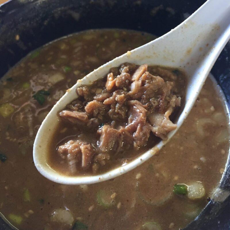 らーめん萬亀 ばんき 秋田県秋田市山王新町 坦々つけめん あっさり味噌 つけ汁 スープ