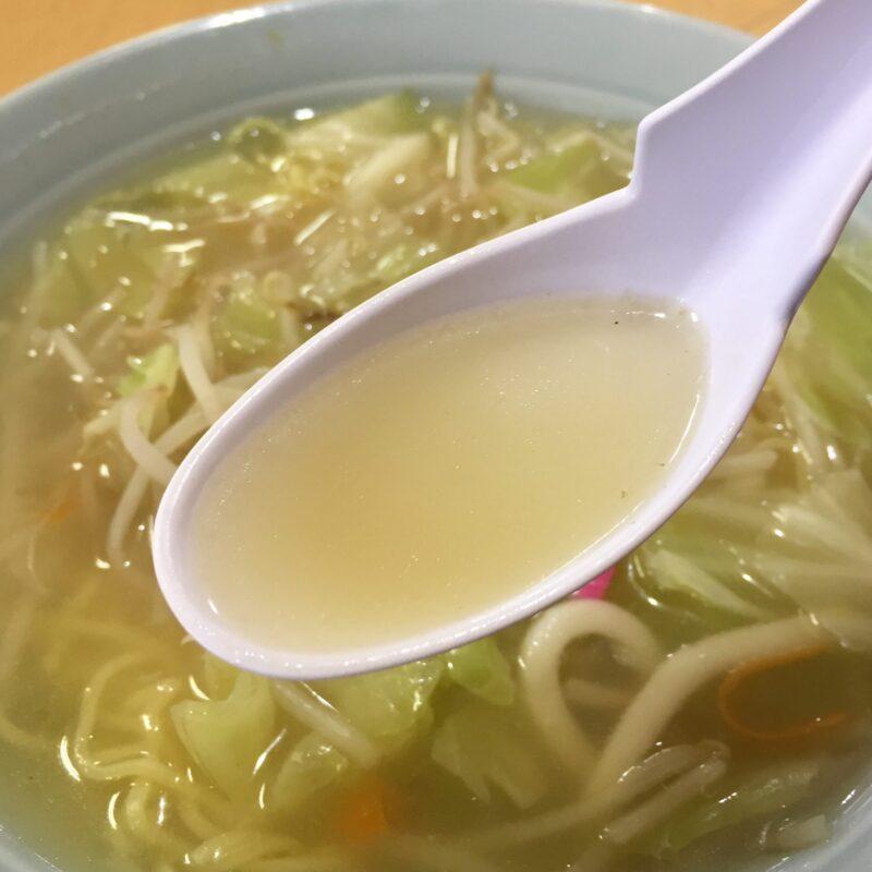 味利食堂 あじとししょくどう 秋田県秋田市中通 タンメン 塩 しおタンメン スープ