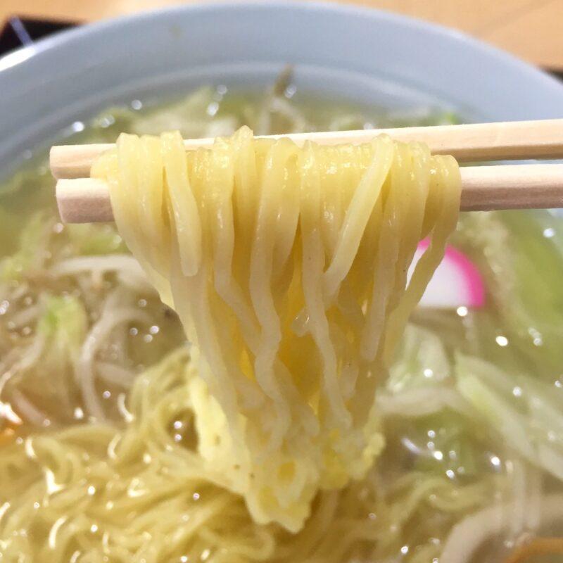 味利食堂 あじとししょくどう 秋田県秋田市中通 タンメン 塩 しおタンメン 麺