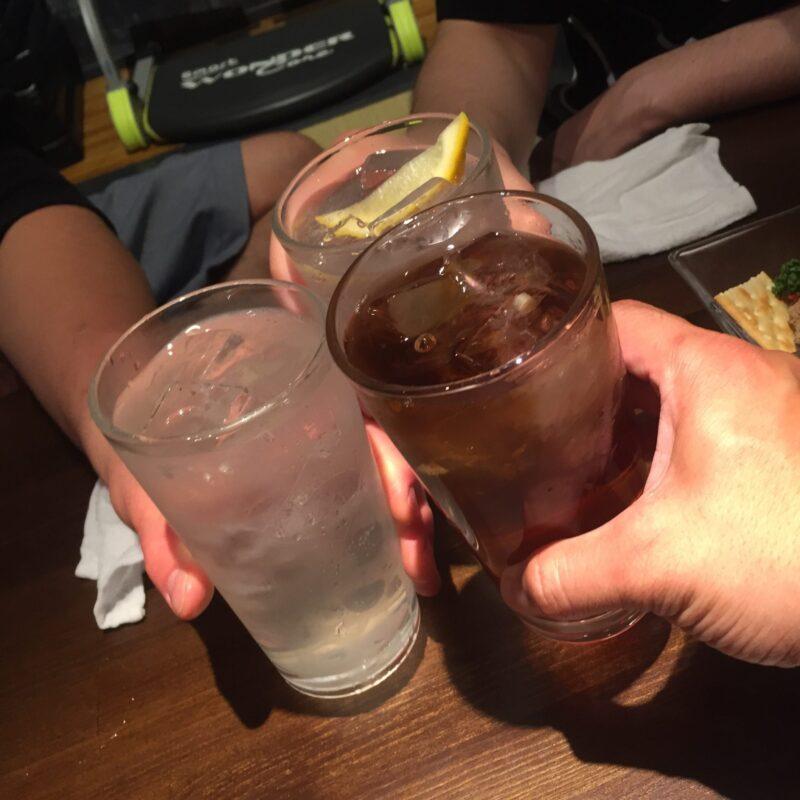 串バカ 我武者羅 秋田県秋田市中通 ウーロンハイ 乾杯