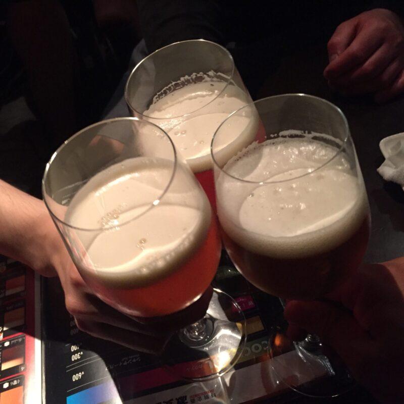 激安BAR St. Christina セントクリスティーナ 秋田県秋田市中通 インドの青鬼 乾杯