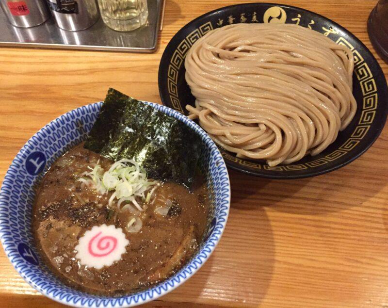 中華蕎麦 うゑず 山梨県中巨摩郡昭和町清水新居 つけめん つけ麺