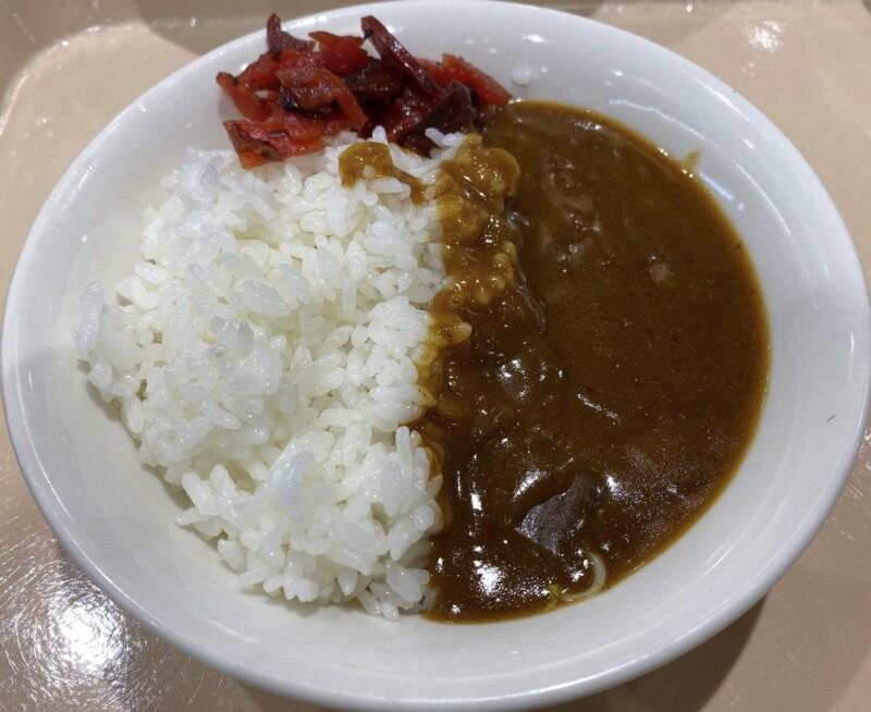 軽食ひまわり 秋田県横手市横手町 スーパーマーケットよねや ハッピーモール店内 ミニカレー カレーライス
