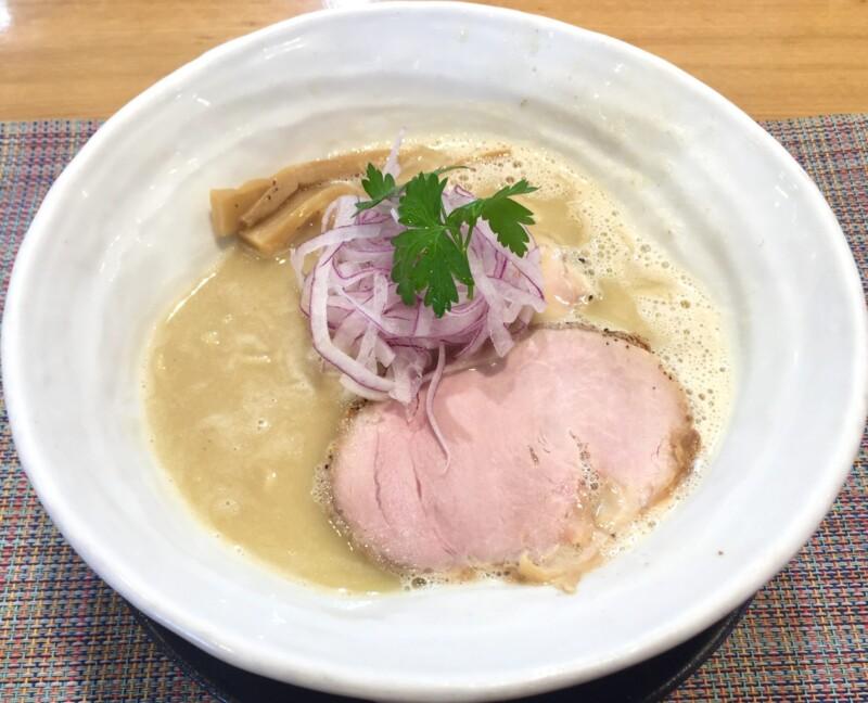 麺や 厨 clear くりや 静岡市駿河区国吉田 うっ鶏そば 鶏白湯