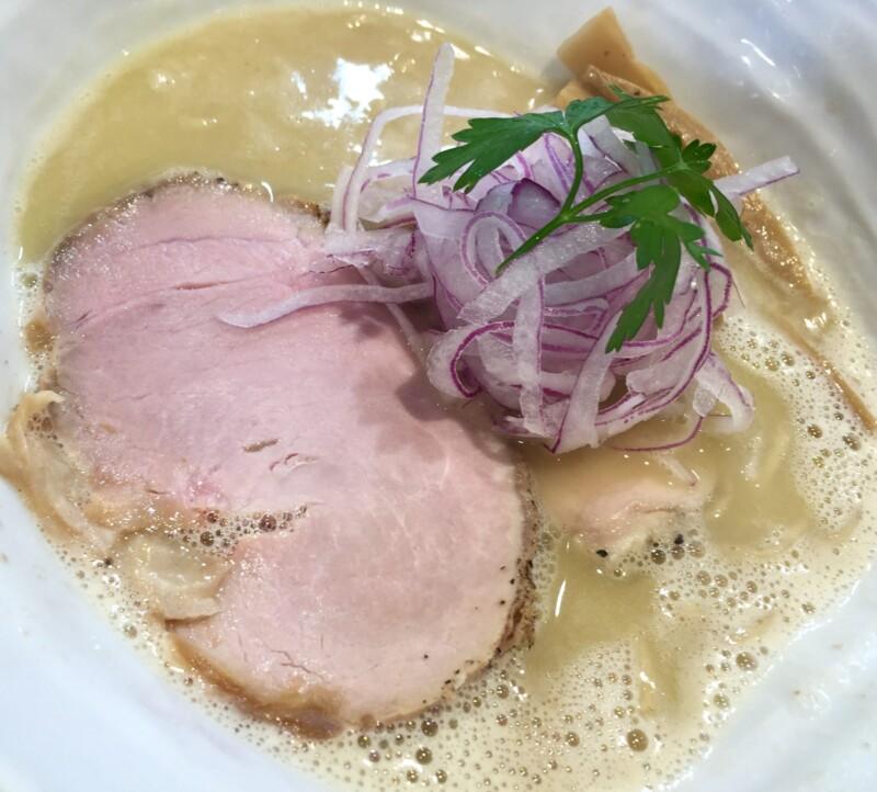 麺や 厨 clear くりや 静岡市駿河区国吉田 うっ鶏そば 鶏白湯 具