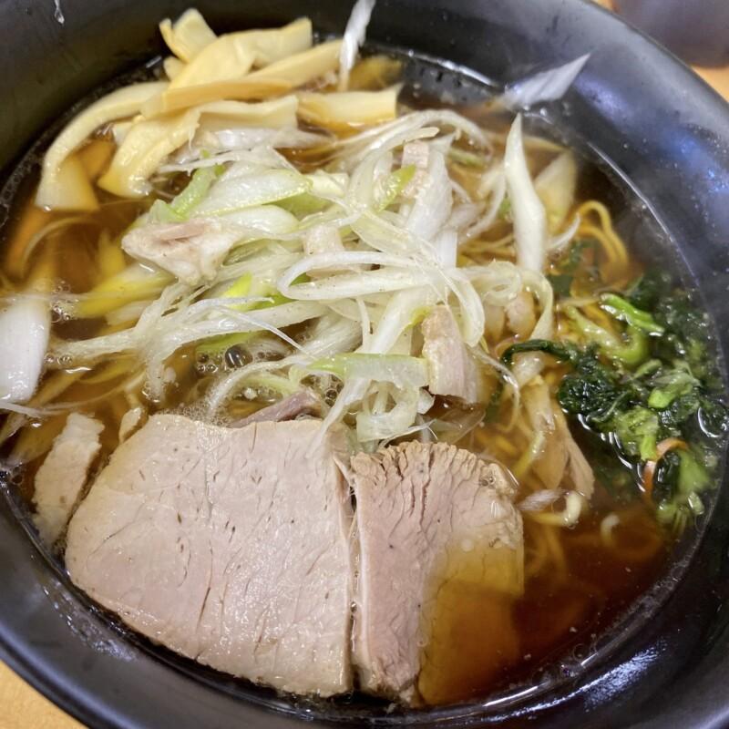 ラーメンえにし 秋田県大仙市佐野町 えにしラーメン 醤油味 醤油ラーメン 具