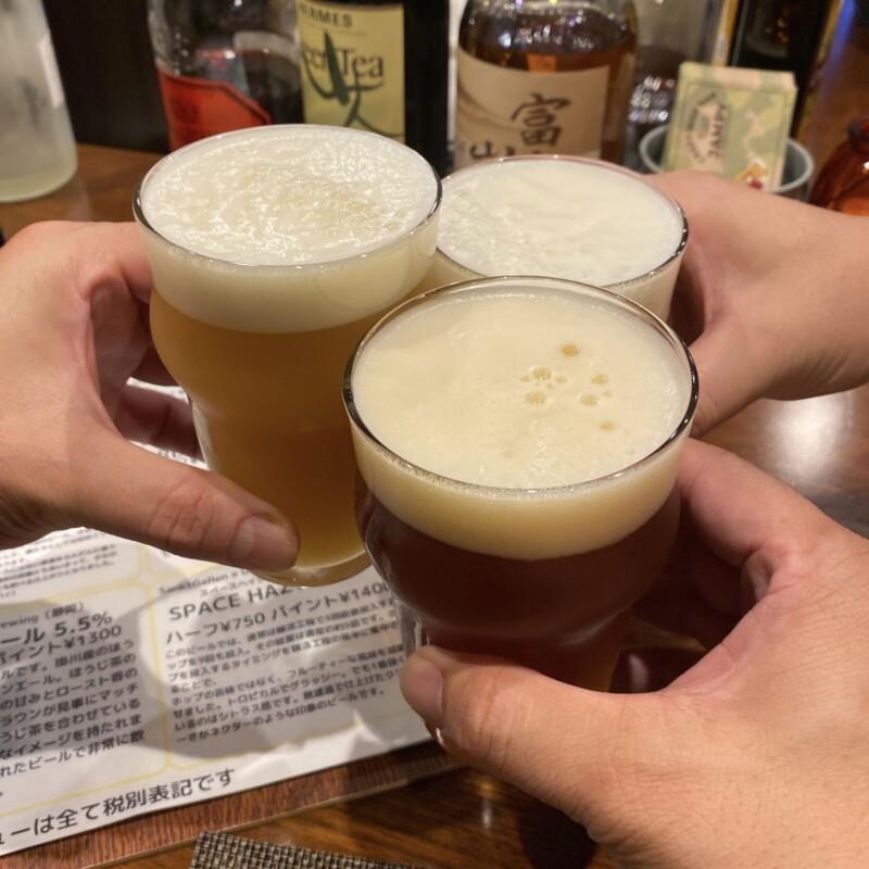 CRAFT BEER BAR JAMPY ジャンピー 山形県酒田市中町 ほうじ茶エール 乾杯