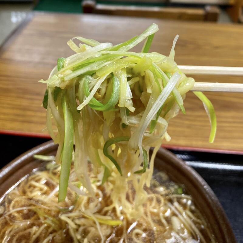 そば処 けん太 秋田県秋田市広面 にんにくねぎ中華 辛口 麺 白髪ネギ