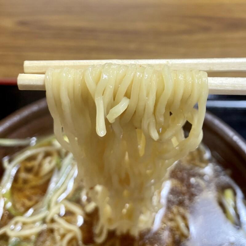 そば処 けん太 秋田県秋田市広面 にんにくねぎ中華 辛口 麺