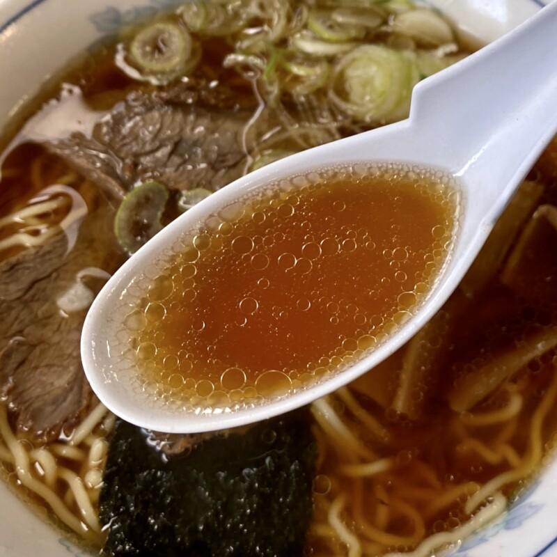 皿谷食堂 さらや 山形県寒河江市本町 中華そば スープ